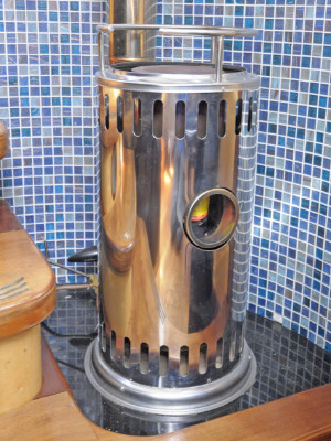Diesel Stove drip-feed space heater